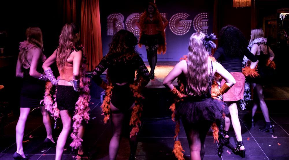 Slide 3: Workshop Burlesque Vrijgezellenfeest