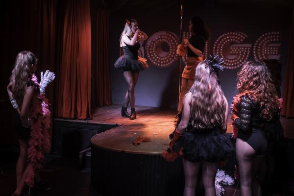 Workshop Burlesque in Berchem